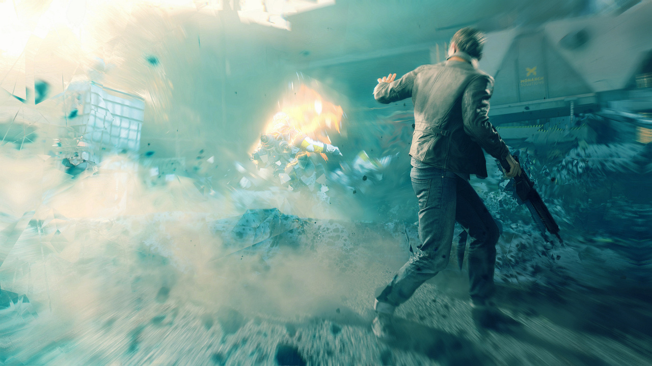 Quantum Break Abilities Shield Barrier