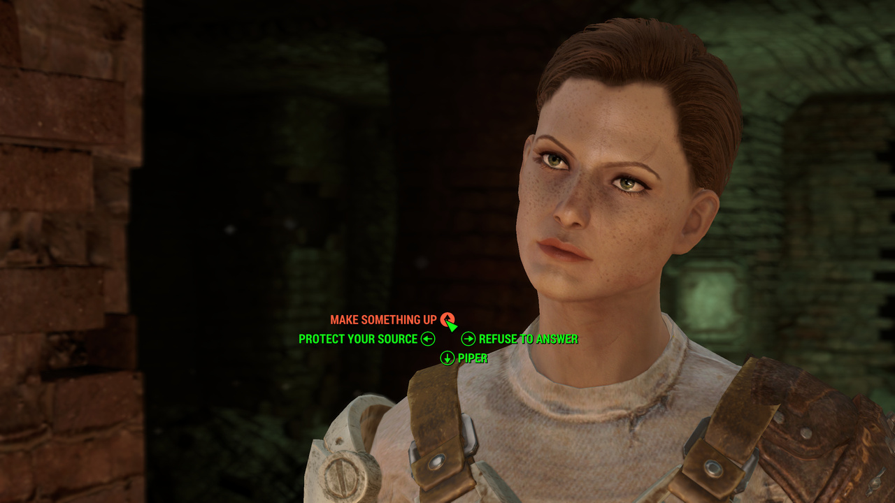Fallout 4 Dialog Options System