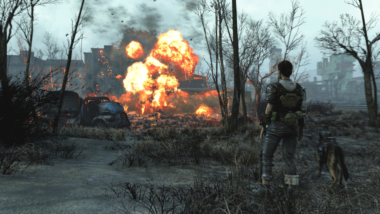 Fallout 4 Explosion