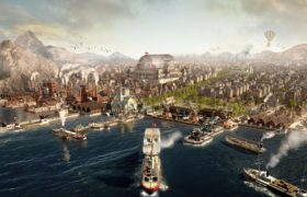 Anno 1800 Harbor Key Art