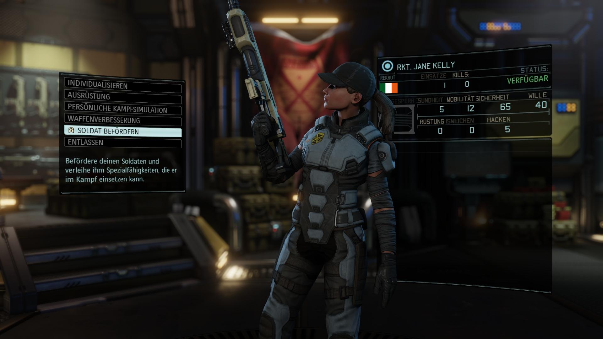 XCOM 2 Soldier Promotion