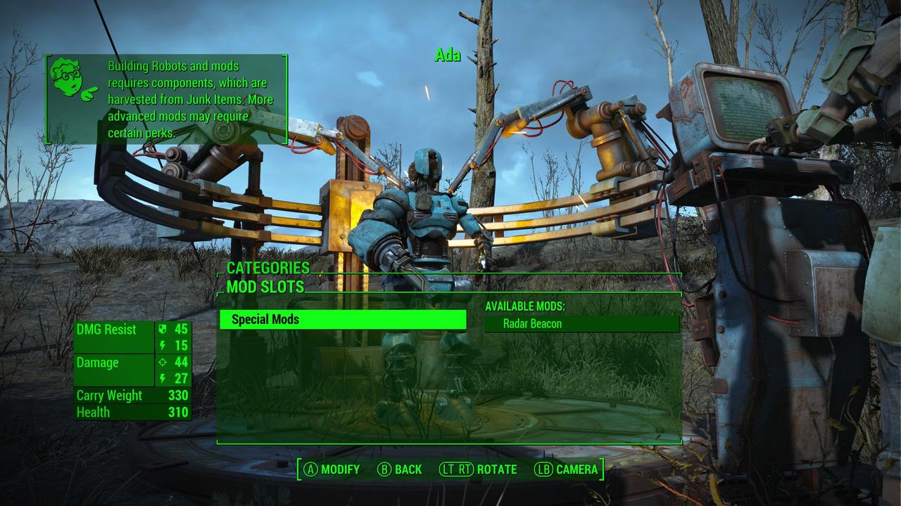 Fallout 4 Robot Workbench