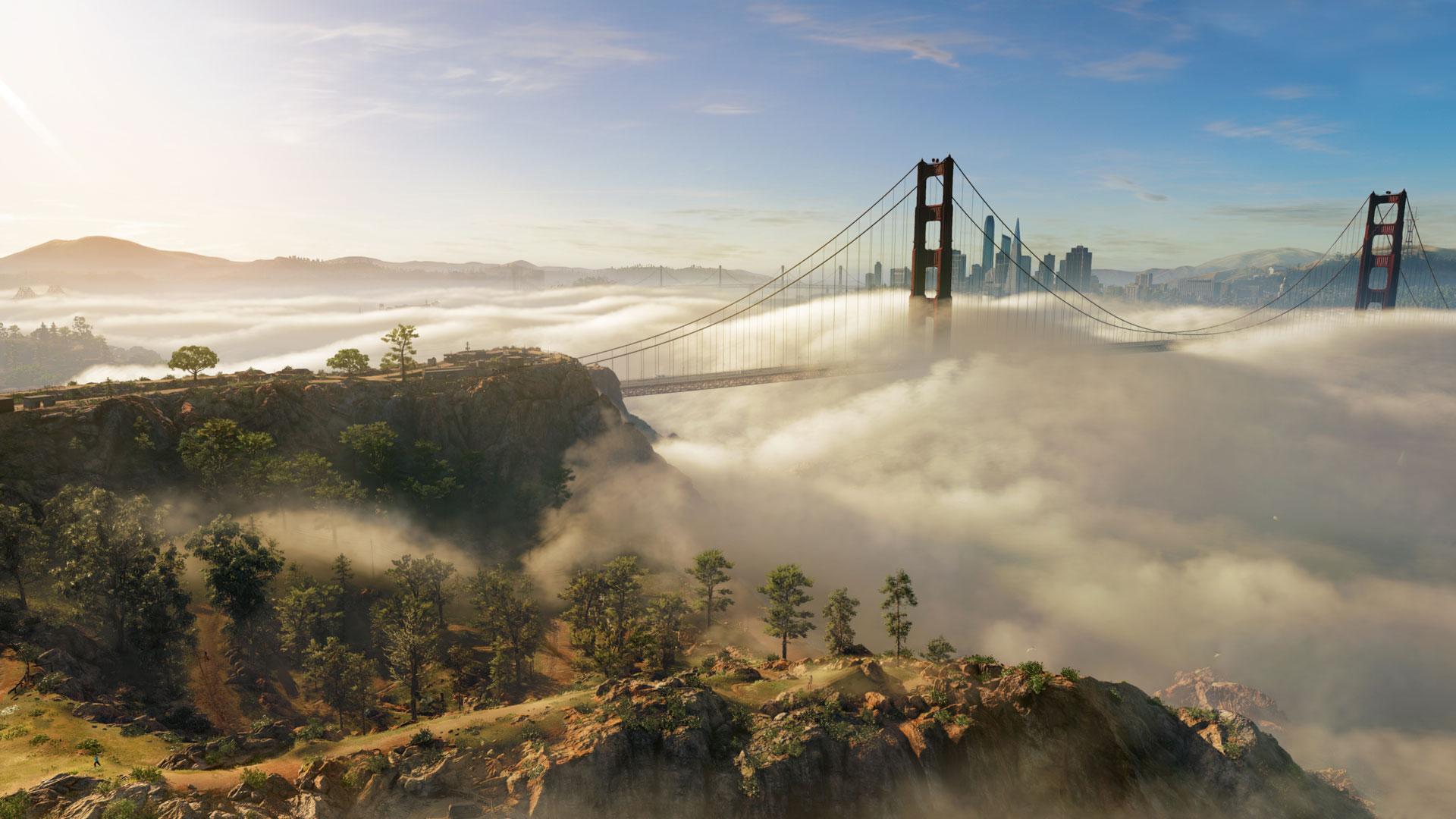 Watch Dogs 2 Golden Gate Bridge